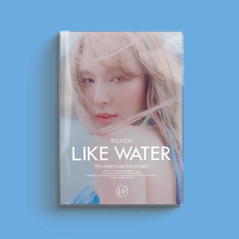 웬디(WENDY) - 1st Mini Album [Like Water] (Photo Book Ver.)케이팝스토어(kpop store)