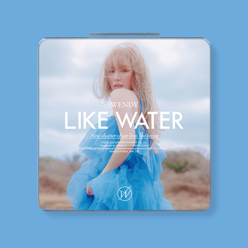 웬디(WENDY) - 1st Mini Album [Like Water] (Case Ver.)케이팝스토어(kpop store)